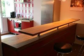 küche hochwertig vollholz vom schreiner bordeauxrot mit theke