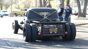 Ford Dually Diesel Rat Rod At Supercar Sunday - YouTube
