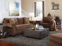 Broyhill Laramie Microfiber Sofa In Distressed Brown by Furniture Broyhill Sofa Broyhill Fontana Sofa Table Flex