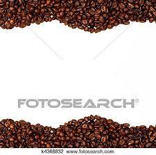 Stock Photo Of Coffee Bean Border K4368832