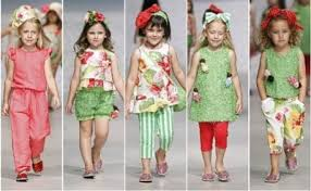This Year Trends Suggest That Children Will Wear Clothes Of Bright Colors
