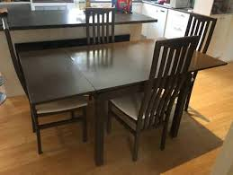 Table And 4 Matching Chairs