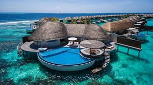 100 W Retreat And Spa Maldives Maldives A Dreamed Resort Above The Indian Ocean