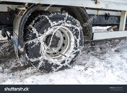 Snow Chains Put On Truck Wheel Stock Photo (Edit Now) 786420676 ...