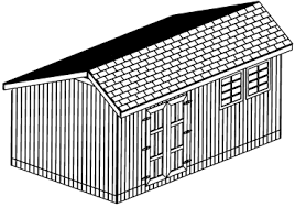 Saltbox Shed Plans 10x12 by 12x16 Saltbox Backyard Shed 26 Garden Shed Plans Diy Original