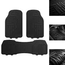 100 Heavy Duty Truck Floor Mats Details About Motor Deep All Weather Rubber For Car SUV Black