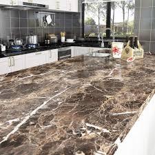 livelynine 40cmx10m marmor folie für tisch klebefolie küche