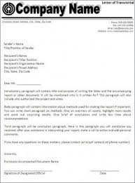 Letter of transmittal template Free Formats Excel Word