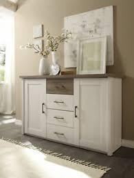 kommode luca sideboard wohnzimmer schlafzimmer weiß braun