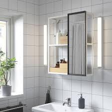 enhet spiegelschrank weiß 60x17x75 cm