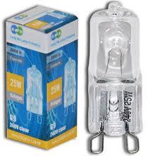 l company 10 x g9 25 w clear halogen ls light