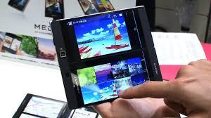 MEDIAS W dual screen Android smartphone DigInfo