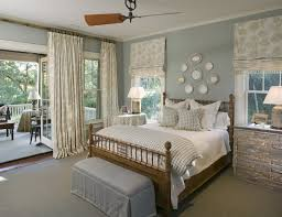 Country Bedroom Decorating Ideas With Wooden Bed Furniture Home French