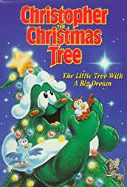 Christopher The Christmas Tree Poster