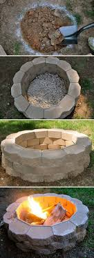 How To Build A Back Yard DIY Fire Pit Its Easy Backyard ProjectsOutdoor