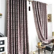 Plum Curtain Panels Midtown Rod Pocket Inch Window Curtain Panel