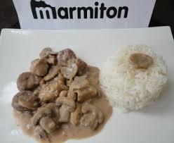 blancs de poulet aux marrons et aux chignons recette de