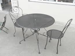 emejing table metal de jardin a allonges nismo photos amazing
