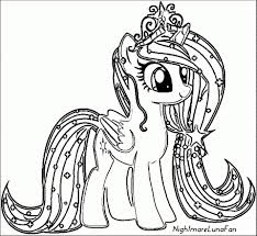My Little Pony Coloring Pages To Print For Girls 66057