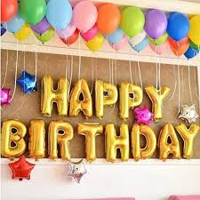 Birthday Decoration Ideas At Home For Husband 5 Balloon Party Model