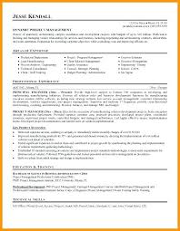 Project Management Resume Objective Manufacturing Managerial Samples Manager