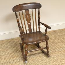 Georgian Child's Elm Antique Windsor Rocking Chair - 07132 ... Antique Wood Rocking Chair Carved Griffin Lion Dragon For 98 Restoring Craftsman Style Oak Youtube Georgian Childs Elm Windsor C 1800 United Vintage Teakwood Rocking Chair Antiques Fniture On Carousell Wrought Iron Leather Marylebone Stock Photos William Iv Mahogany Sold Chairs From The 1800s Collectors Weekly Antique Platform Chairs Classic Wikipedia