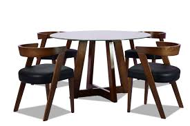 DINING TABLE - JUNO (TABLE + 4 CHAIRS) Chair Marvelous Round Table And 4 Chairs Ding Table Juno Chairs Table And Chairs Plastic Round Mfd025 Ding Soren 5 Piece Piece Set 1 With 1200diam Finished In Concrete Miss Charcoal Coon Rapids With Luxury White Chrome Glass Lipper Childrens Walnut Key West 5piece Outdoor With