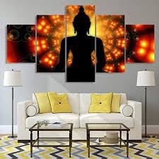 fbhfbh 3d leinwand malerei 5 stücke poster familie