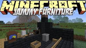 Minecraft Mods Showcase Jammy Furniture Mod 1 8 1 7 10