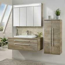 details zu neu fackelmann stanford bad set 4 teilig in eiche natur optik 160 5 cm badmöbel