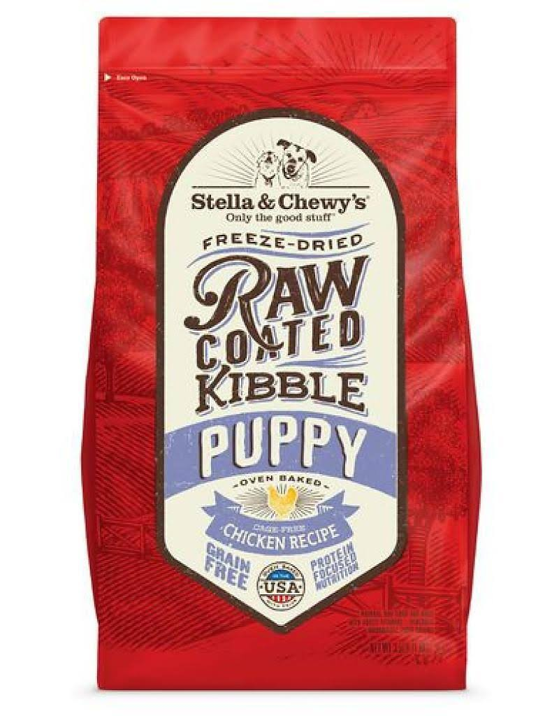 Stella & Chewy's Raw Coated Kibble Cage-Free Chicken Puppy Dog Food - 22 lbs.