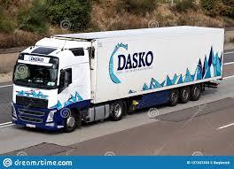 100 Refrigerated Trucking Companies Dasko Truck On Motorway Editorial Stock Image Image Of Fleet
