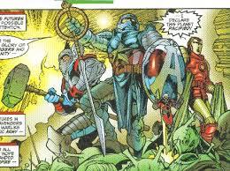 Earth 9812 Avengers Galactic Battatlion Forever