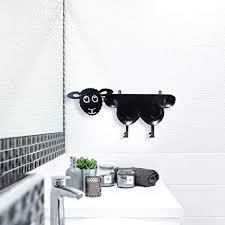 toilettenpapierhalter stehend aus metall wc rollenhalter ersatzrollenhalter wandmontage freistehend schaf design deko badezimmer i für bis zu 7 rollen
