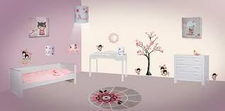 toile chambre bb fille trendy deco chambre kokeshi grenoble porte