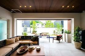 modernes interieur im asiatischen stil zum dekorieren und