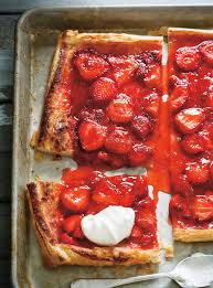 dessert aux fruits rapide tarte rapide aux fraises à 5 ingrédients ricardo