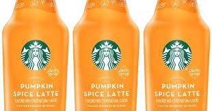 When Are Pumpkin Spice Lattes At Starbucks by New Bottled Starbucks Pumpkin Spice Latte Arriving This Month