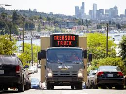 Amazon Truck: Treasure Truck Sells One Discounted Item Daily | Money