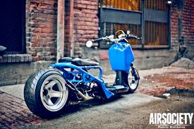 Google Image Result For Airsociety Wp Content Uploads 2012 01 Honda Ruckus Bagged Air Ride Stance Scooter 011