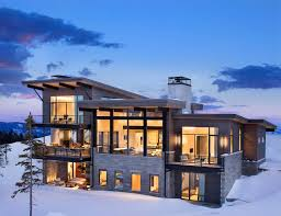 100 Mountain Home Architects Modern Mountain Home Boasts Chic And Stylish Living In