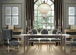 French Dining Table Country Room Eclectic Oak For