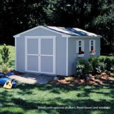 10x12 Barn Shed Kit by Quality Storage Sheds Installed Right In Your Backyard