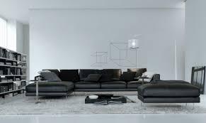 canapé design luxe italien brico canape grand luxe cuir brian noir canapé d angle