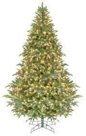 Flocked Downswept Christmas Trees by 7 5 U0027 Pre Lit Ready Shape Instant Power Cascade Ipt Christmas Tree