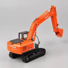 100 Orange Truck Shop 150 Scale HIACHI ZH200 Diexast Excavator Model