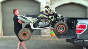 Learn How To SAFELY Load Your ATV Onto Your Truck/Trailer Without ...