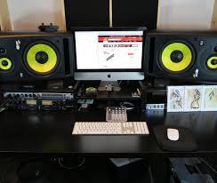Full Size Of Deskhome Design Music Studio Ideas Diy Me Recording Desk Walnut Computer