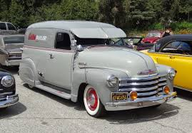 100 Chevrolet Panel Truck Nostalgia On Wheels 1949 Chevy 12 Ton Eddies Parlor