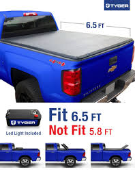 Amazon.com: Tyger Auto TG-BC3C1007 TRI-FOLD Truck Bed Tonneau Cover ...